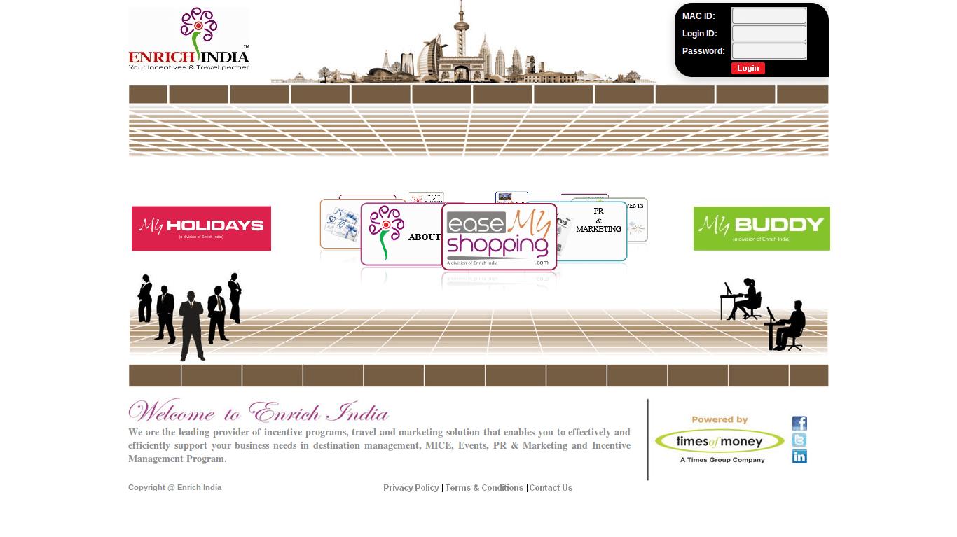 enrich-india-com web design mumbai