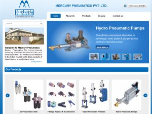 Mercury Pneumatics Pvt. Ltd.