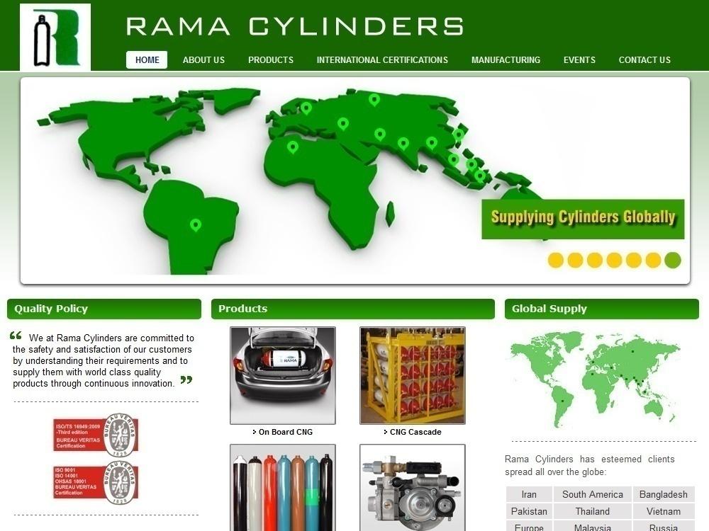 Rama Cylinder - home page