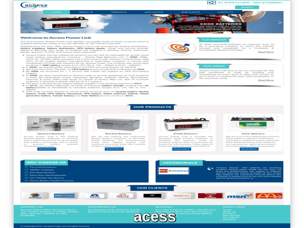 access-power-link web design mumbai