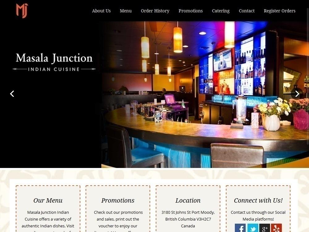 Restuarant website design Canada