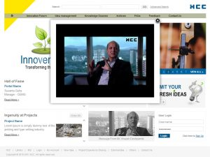 HCC – Intranet Innovention Portal