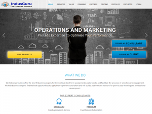 IndusGuru – B2B Marketplace of Service Providers