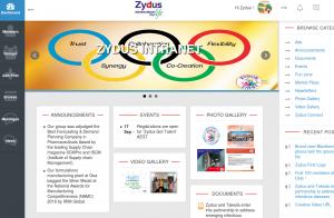 Zydus Cadila – Social intranet