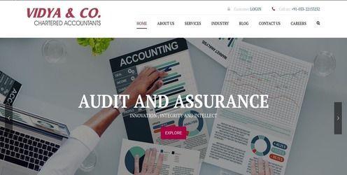 Responsive web design Vidya & Company