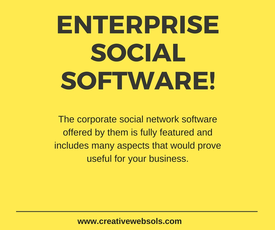 Corporate Social Network Softwares